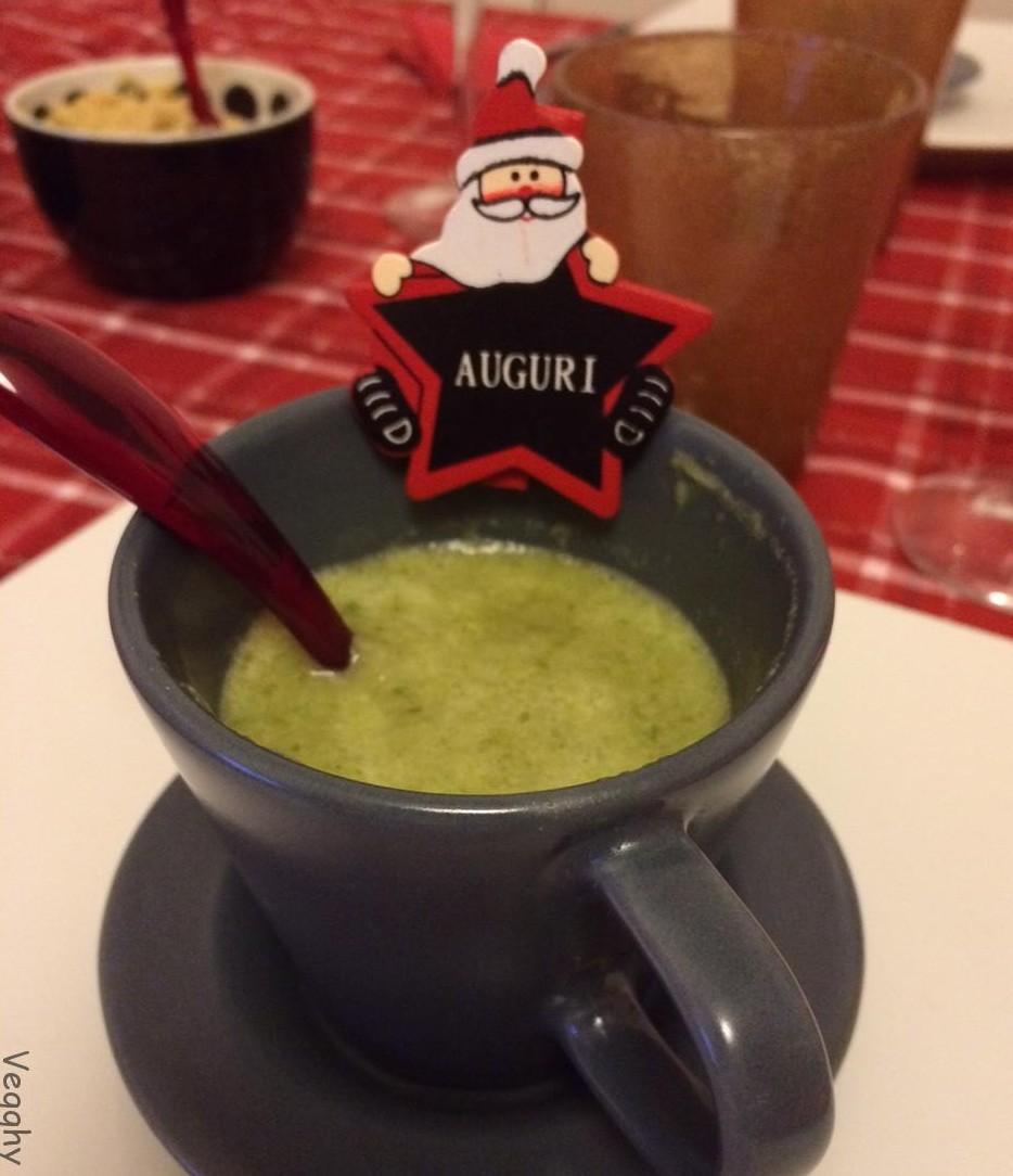 Zuppa di scarola e zenzero