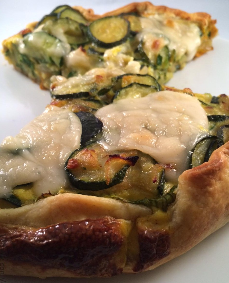 Torta di zucchine e cipolle
