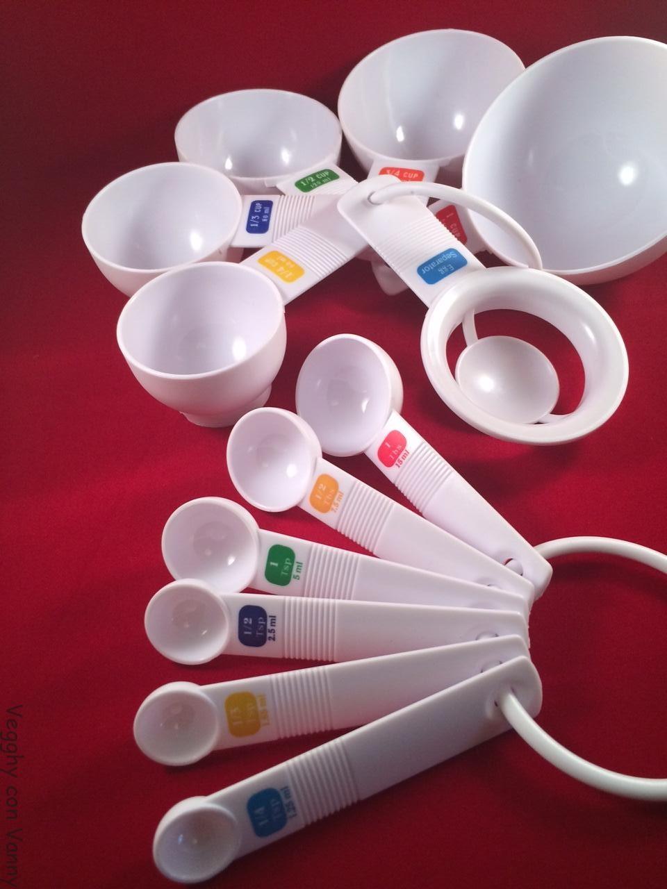 Unità di misura in cucina: tazze, tazzine, cucchiai e cucchiaini