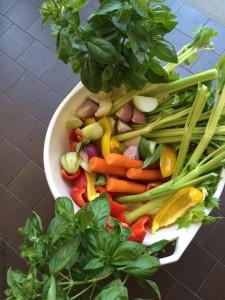 Ecco le immancabili verdure