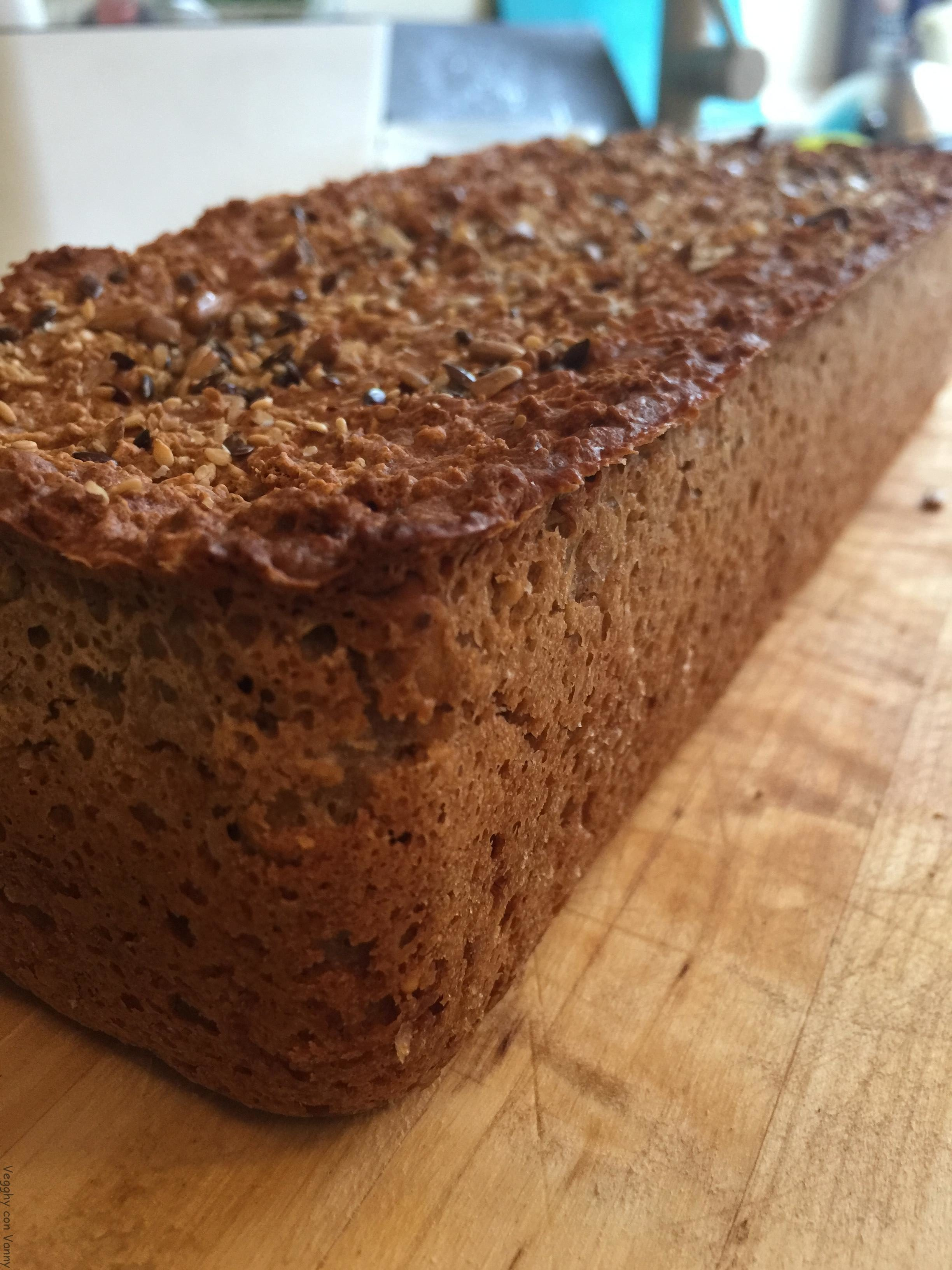 Pane al farro e grano saraceno