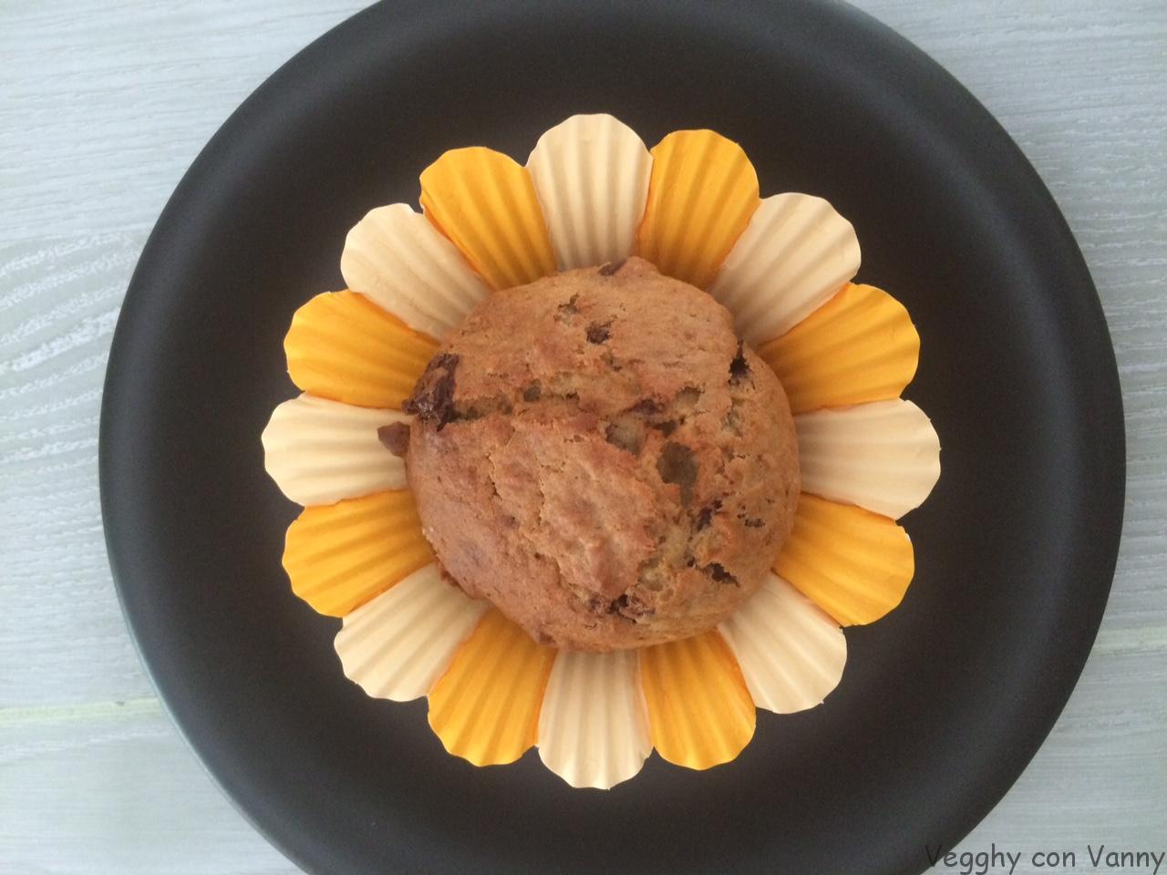 Muffin choco banana