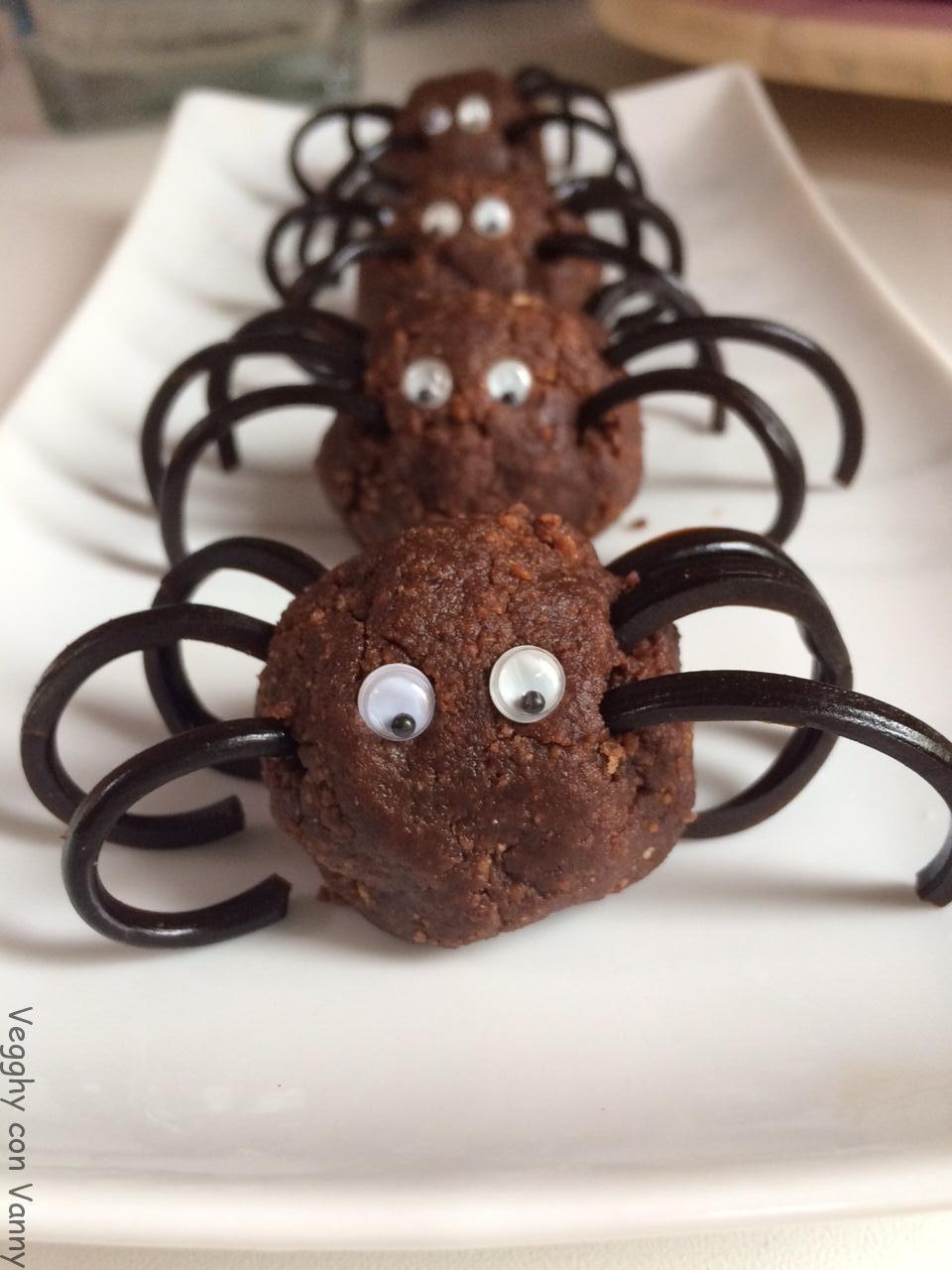 Ragnetti di cioccolato