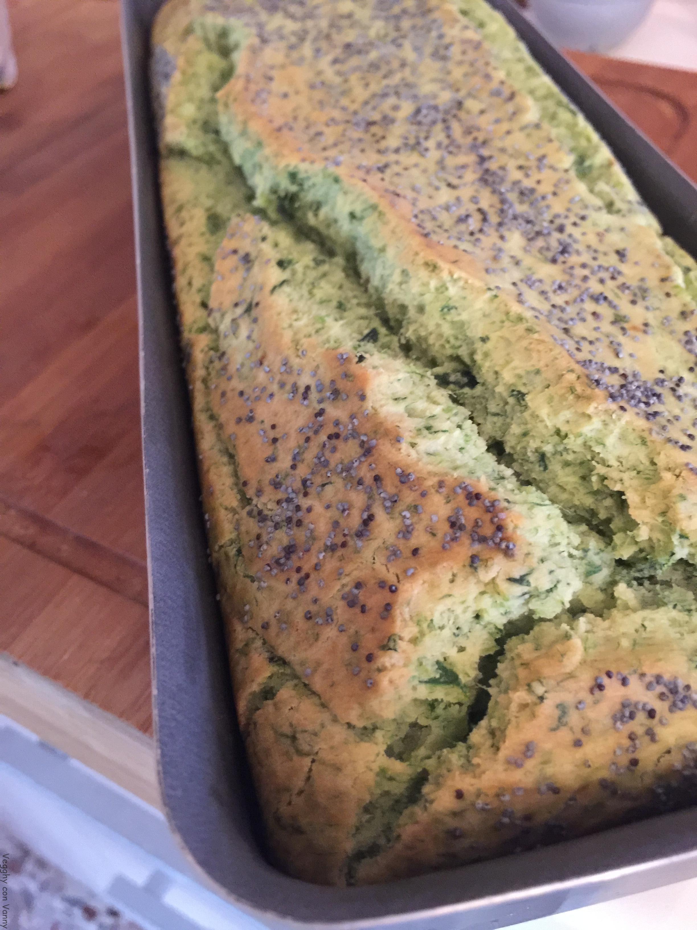 Plumcake gluten free agli spinaci