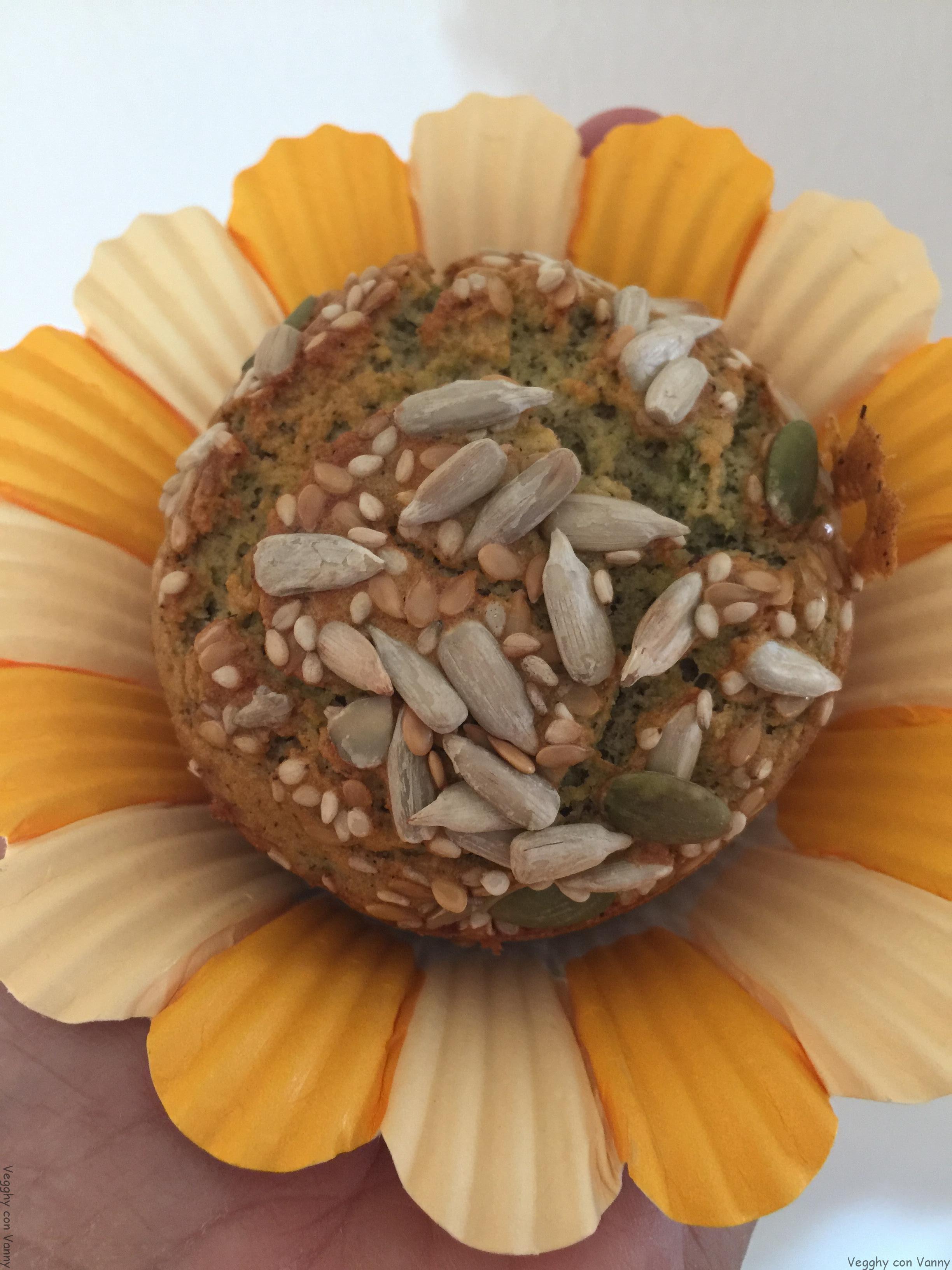 Muffin gluten free con asparagi